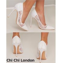 Chi Chi London Flower Patterns Pin Heels Party Style Elegant Style Shoes