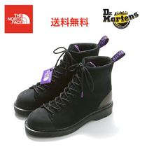 THE NORTH FACE Mountain Boots Faux Fur Blended Fabrics Street Style