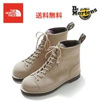 THE NORTH FACE Square Toe Mountain Boots Round Toe Rubber Sole Casual Style