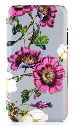 Flower Patterns iPhone 8 iPhone X iPhone XS Logo