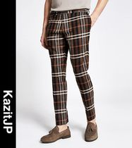 River Island Printed Pants Other Plaid Patterns Patterned Pants