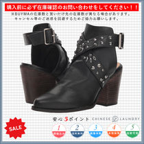 CHINESE LAUNDRY Casual Style Chunky Heels High Heel Boots