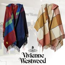 Vivienne Westwood Other Check Patterns Unisex Wool Ponchos & Capes