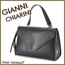 GIANNI CHIARINI 2WAY Leather Elegant Style Handbags