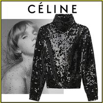 CELINE Casual Style Wool Long Sleeves Party Style Home Party Ideas
