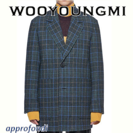 Gingham Wool Jackets