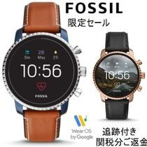 Fossil Unisex Blended Fabrics Street Style Watches Watches