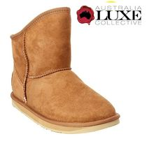 Australia Luxe Collective Casual Style Plain Flat Boots