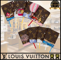 Louis Vuitton MONOGRAM Unisex Co-ord Notebooks