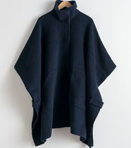 & Other Stories Wool Plain Medium Ponchos & Capes