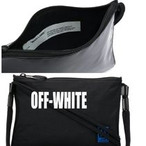 Off-White Unisex Street Style 2WAY Plain Messenger & Shoulder Bags