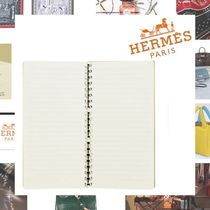 HERMES Unisex Notebooks