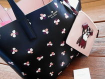 kate spade new york Flower Patterns Casual Style Bag in Bag A4 2WAY Party Style