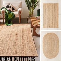 Urban Outfitters Unisex Plain Round Carpets & Rugs