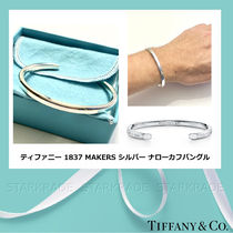 Tiffany & Co TIFFANY 1837 Bangles Blended Fabrics Silver Bracelets