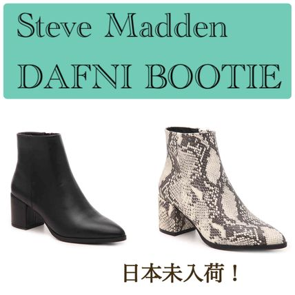 Casual Style Python Boots Boots