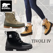 SOREL Lace-up Suede Lace-up Boots