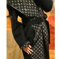 Louis Vuitton MONOGRAM Hooded Wrap Coat
