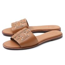 Tory Burch Rubber Sole Leather Sandals Sandal