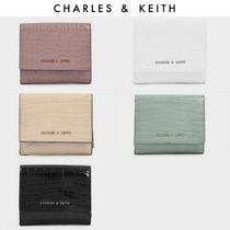 Charles&Keith Unisex Faux Fur Blended Fabrics Street Style