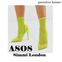 ASOS Casual Style Blended Fabrics Plain Pin Heels Party Style