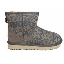 UGG Australia CLASSIC Rubber Sole Sheepskin Suede Ankle & Booties Boots