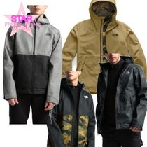 THE NORTH FACE Short Camouflage Unisex Street Style Plain Coach Jackets