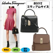 Salvatore Ferragamo Plain Handbags