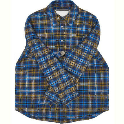 Other Plaid Patterns Street Style Logo Down Jackets