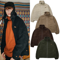 WV PROJECT Short Unisex Street Style Plain Oversized Jackets