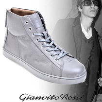 Gianvito Rossi Street Style Plain Leather Sneakers