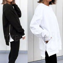 Unisex Plain Oversized Hoodies & Sweatshirts