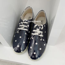 COMME des GARCONS Dots Casual Style Enamel PVC Clothing Low-Top Sneakers