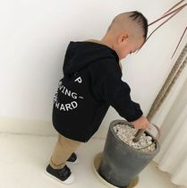 Unisex Street Style Front Button Military Baby Boy Outerwear