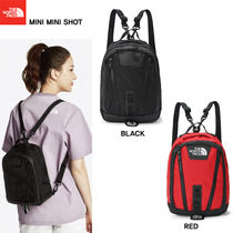 THE NORTH FACE Casual Style Nylon Studded Street Style Plain Backpacks