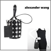 Alexander Wang Studded Leather Party Style Handbags