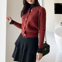 Long Sleeves Angola Elegant Style Sweaters