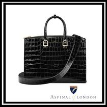 Aspinal of London A4 Leather Office Style Elegant Style Totes