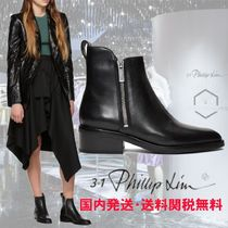 3.1 Phillip Lim Round Toe Rubber Sole Casual Style Street Style Plain