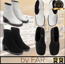 by FAR Casual Style Unisex Street Style Plain Logo Boots Boots
