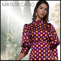 Matilde Cano Dots Cropped Party Style Elegant Style Shirts & Blouses