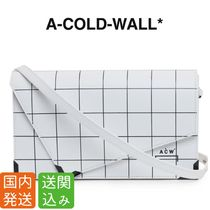 A-COLD-WALL Other Check Patterns Casual Style Street Style 2WAY