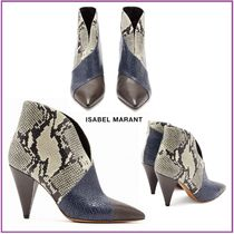 Isabel Marant Leather Ankle & Booties Boots