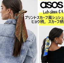 ASOS Scrunchy Casual Style Party Style Elegant Style Elastics