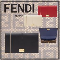 FENDI Calfskin Chain Plain Accessories