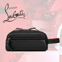 Christian Louboutin Calfskin Leather Clutches