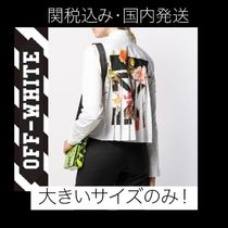 Off-White Casual Style Street Style Long Sleeves Cotton Medium