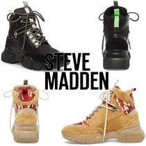 Steve Madden Platform Casual Style Suede Plain Other Animal Patterns