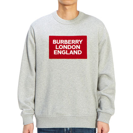 Burberry Long Sleeve Street Style Long Sleeves Plain Cotton Long Sleeve T-shirt 2