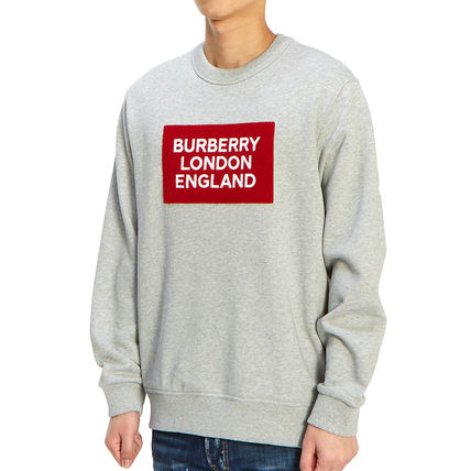 Burberry Long Sleeve Street Style Long Sleeves Plain Cotton Long Sleeve T-shirt 3